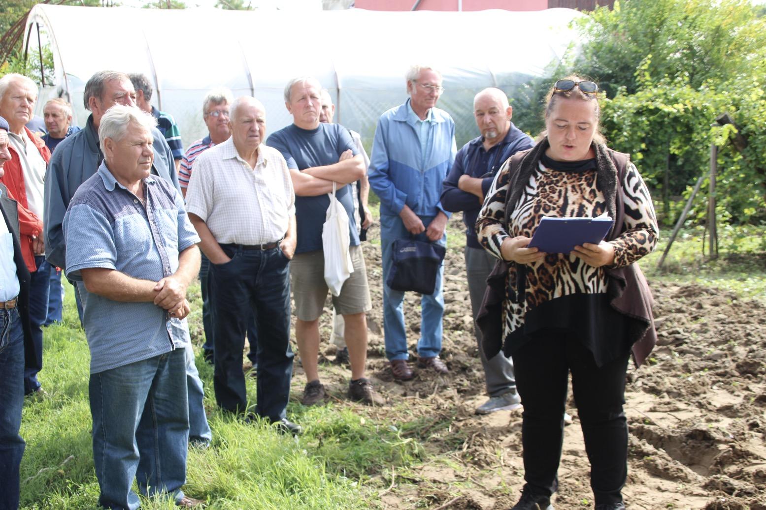 Gépbemutatót tartottunk a 22. Csongrádi Borfesztivál – Szakmai Napján